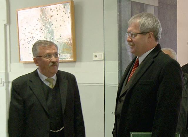 dr. Fazekas Sándor miniszter fogadása