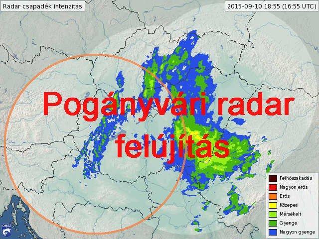 Időjárás radar