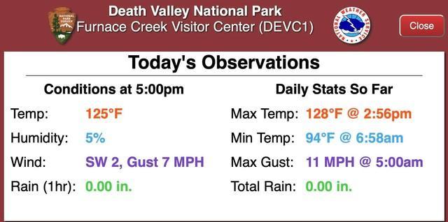 Több mint 50 Celsius fok Kaliforniában